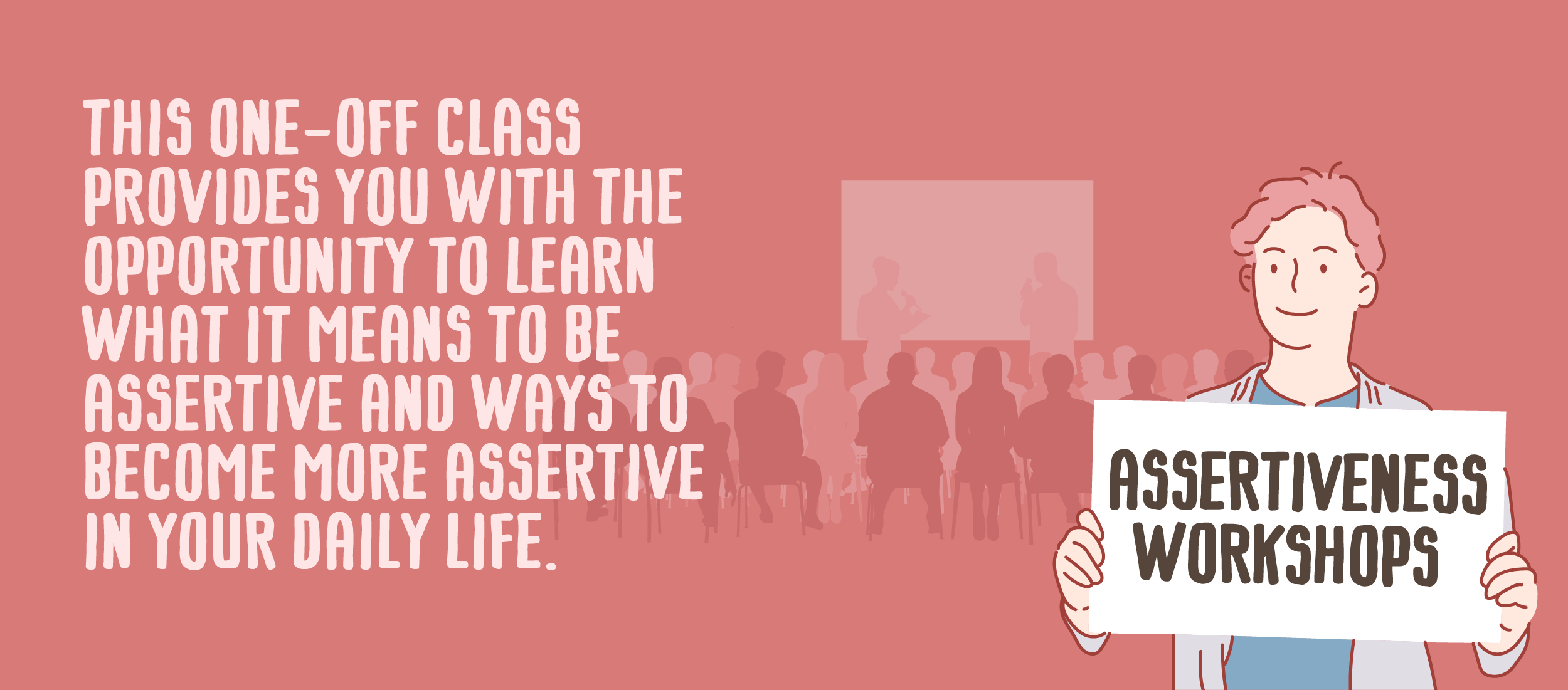 Assertiveness workshop slider